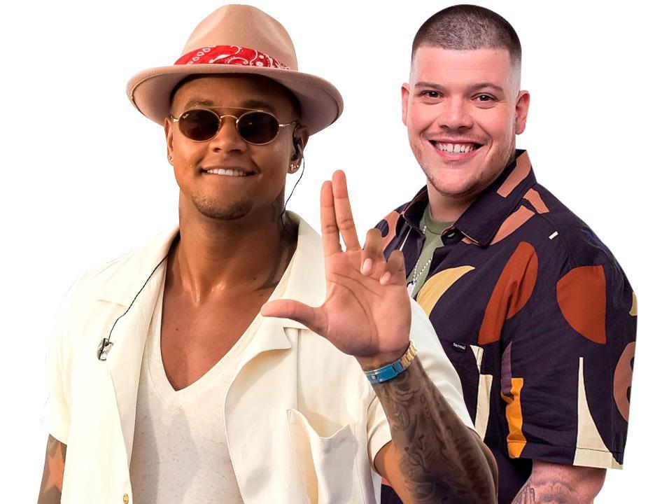 Léo Santana anuncia Ferrugem como o 1° convidado de sua próxima live. Foto: Divulgação