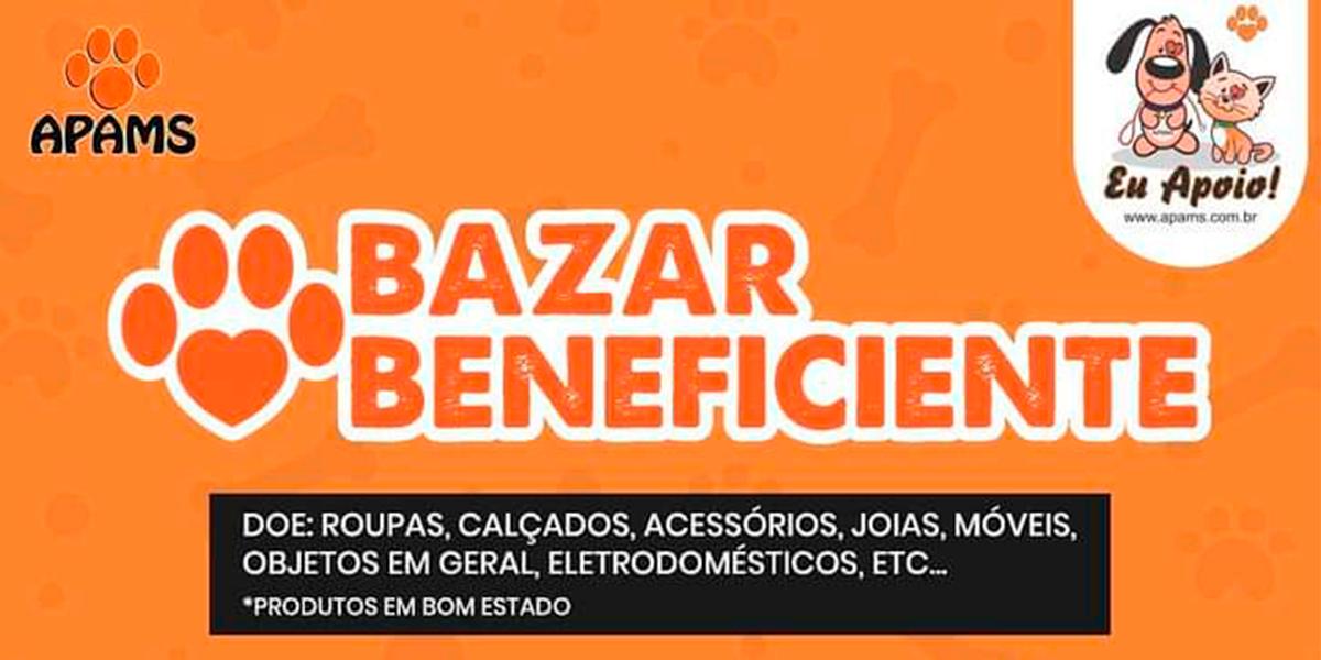 Bazar anual beneficente da APAMS já está arrecadando doações. (Foto: Divulgação)