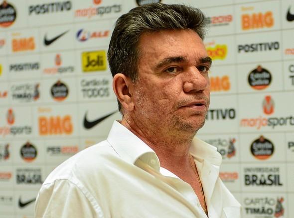 Andrés Sanchez tem mandato na presidência do Corinthians até o fim do ano — Foto: Renato Pizzutto/BP Filmes