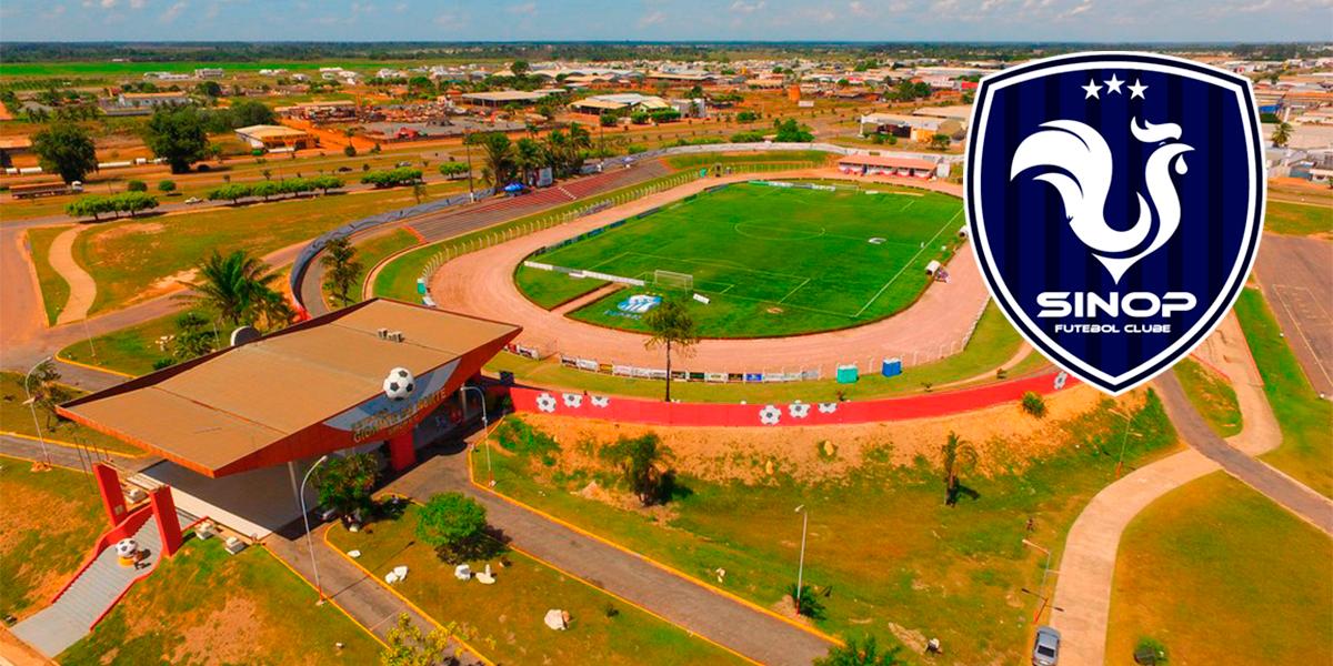 Sinop FC foi eliminado do campeonato estadual 2020. (Foto: Divulgação)