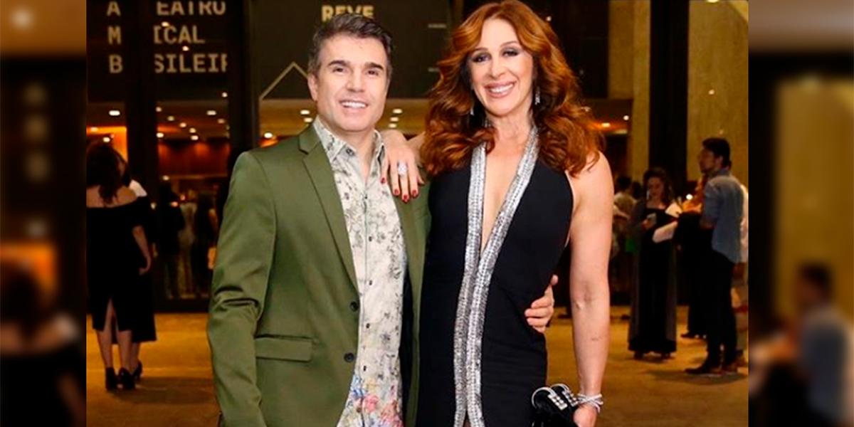 Claudia Raia e seu marido Jarbas Homem de Mello(foto: Reprodução)