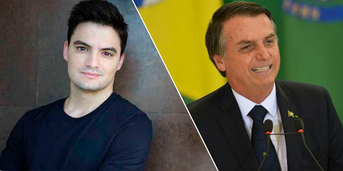 Felipe Neto e Bolsonaro são influenciadores mundiais, segundo pesquisa. (Foto: Divulgação / Agência Brasil)