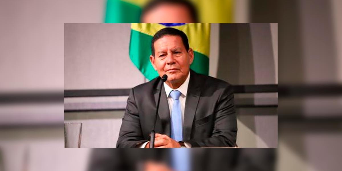 Vice-presidente da República, Hamilton Mourão anunciou que a Operação verde Brasil 2 será prorrogada até 2021. (Foto: Divulgação)