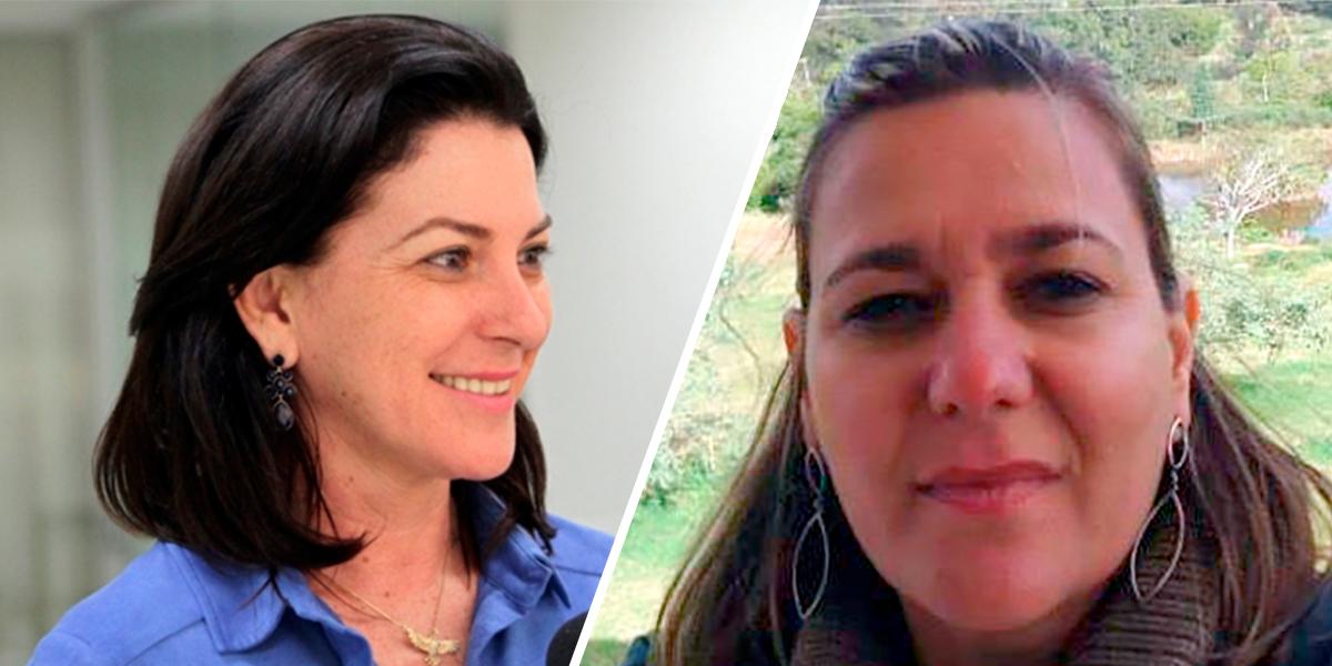 Prefeita Rosana Martinelli e a nova Diretora da AGER Sinop Márcia Cristina Lopes