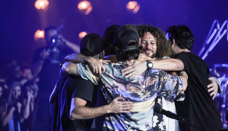 Amigos desde a infância, os músicos do Atitude 67 largaram suas respectivas vidas profissionais e apostaram na carreira (Foto: Ana Carvalho)