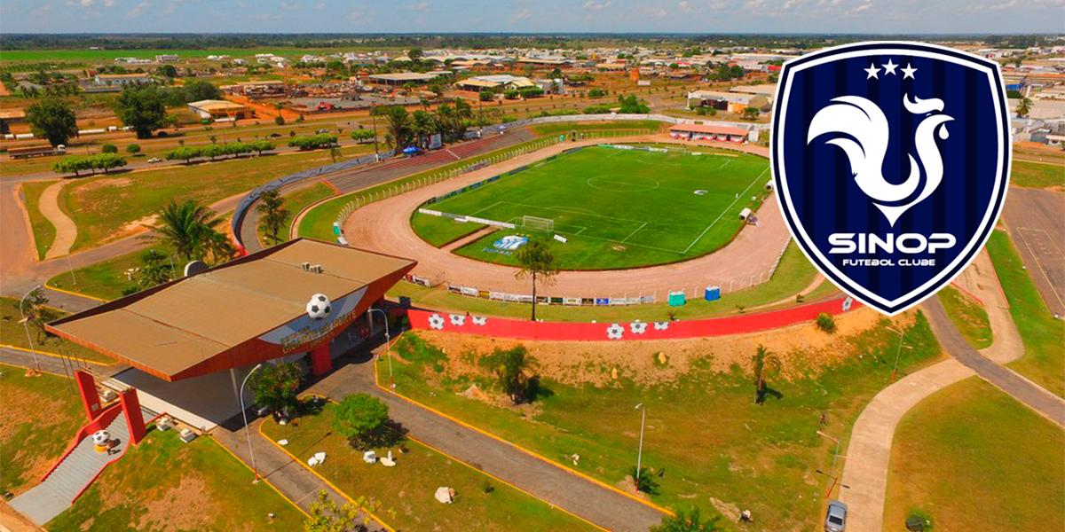 Estádio Gigante do Norte em Sinop. (foto: Assessoria)