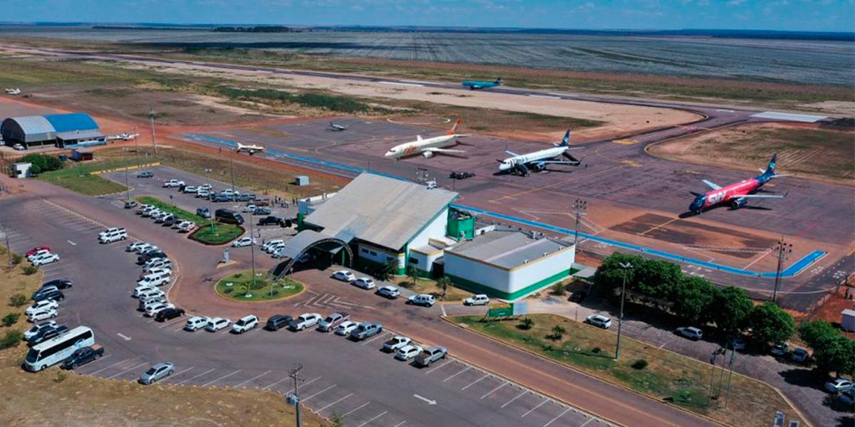 Aeroporto necessita de aparelho para operar voo noturnos. (foto: Assessoria / Arquivo)