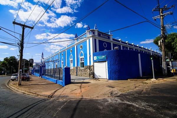 Ela estava internada na Santa Casa de Cuiabá — Foto: Marcos Vergueiro/Secom-MT