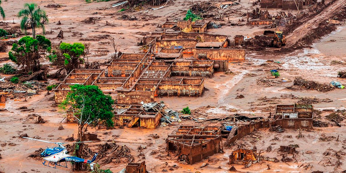 Tragédia em Mariana. (Foto: Agência Brasil / Antonio Cruz)