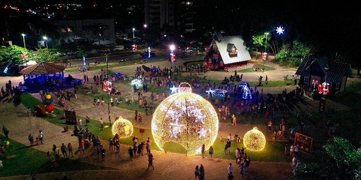 Decoração de Natal em Sinop. (Foto: Divulgação / Ilustrativa)
