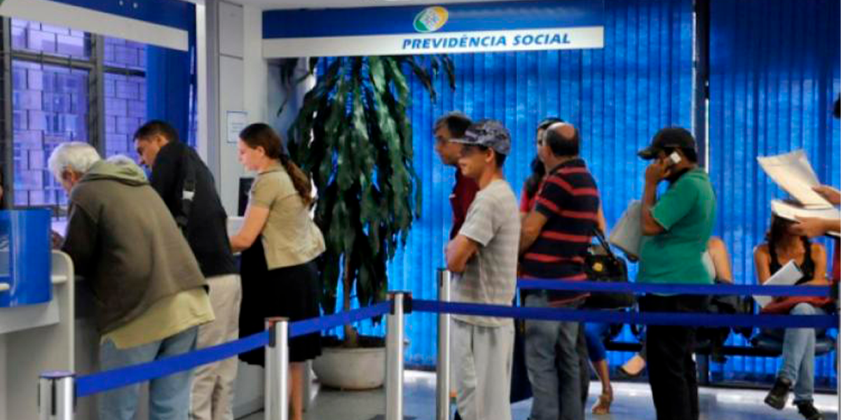 Atendimento no INSS continua suspenso. (Foto: Agência Brasil / Divulgação)