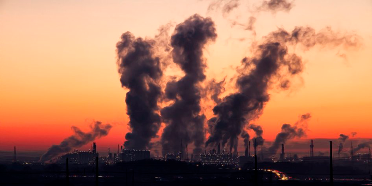 Emissão de CO2 tem queda em 2020. (Foto: Banco de Imagens / Pexels)
