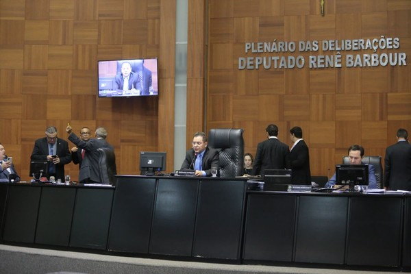 Projeto foi aprovado pelos deputados — Foto: Fablício Rodrigues/ALMT