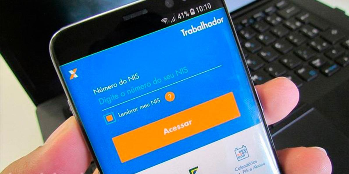 Consulte seu abono salarial através do aplicativo Caixa Trabalhador. (foto: Divulgação)