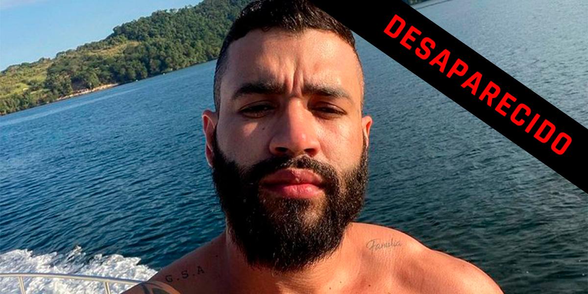Gusttavo Lima desaparece logo após beber cachaça em sua live. (foto: reprodução)