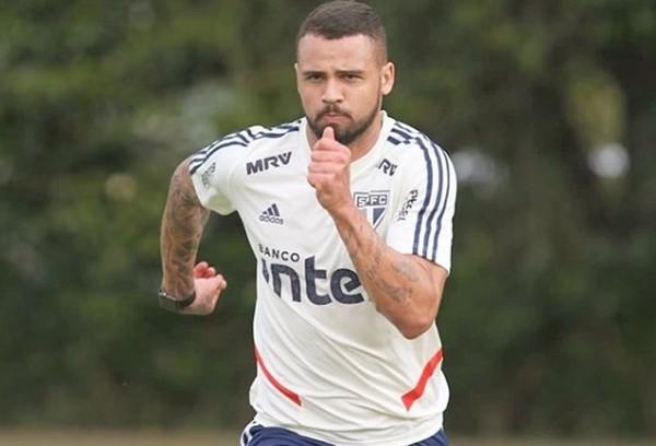 Lucão deixou o São Paulo em 2019 — Foto: Rubens Chiri